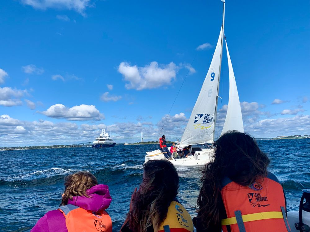 Fourth grade students at Newport's Pell Elementary School will spend eight weeks visiting Sail Newport in the fall, followed by eight weeks in the spring. Teachers say scholarship opportunities are available for students to continue sailing once the program is over.