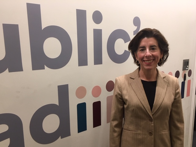 Political Roundtable: Raimondo On The Fight For Her Budget Priorities