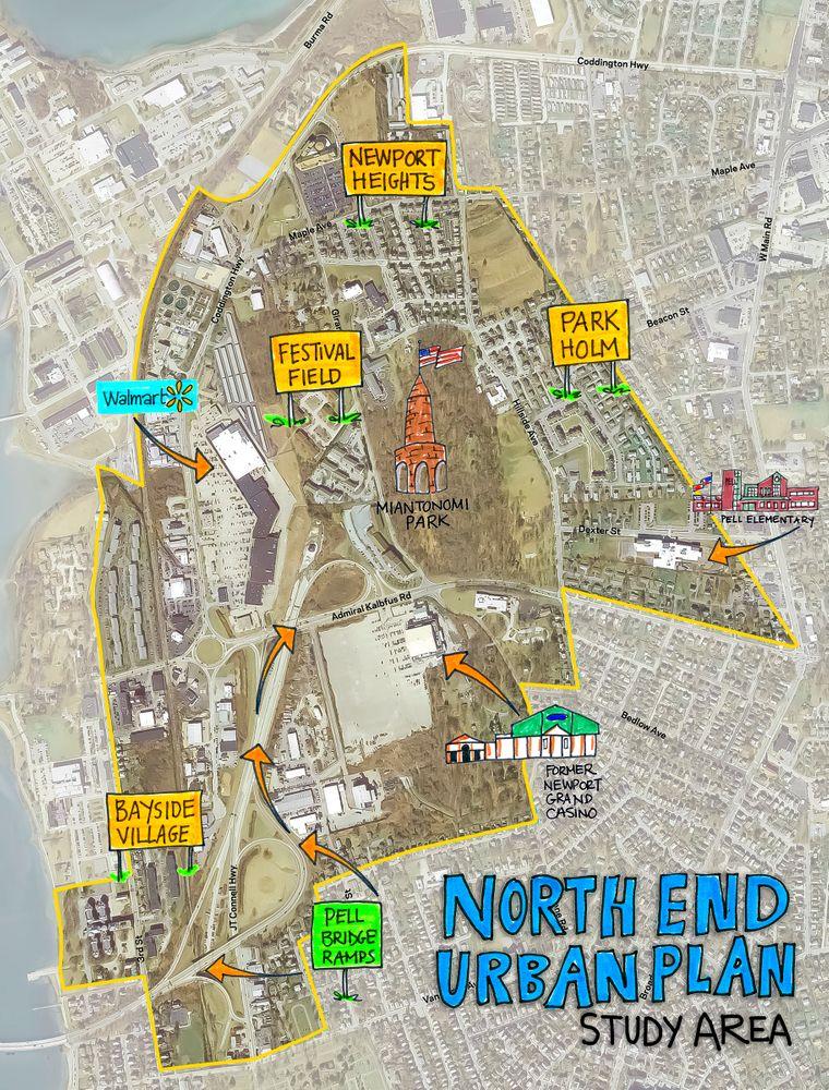 Los costes de un nuevo plan: los residentes de Newport preocupados sobre la gentrificación en el North End
