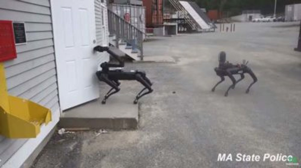 Mass. State Police Tested Out Boston Dynamics' Robot Dog. Civil Liberties Advocates Want To Know More