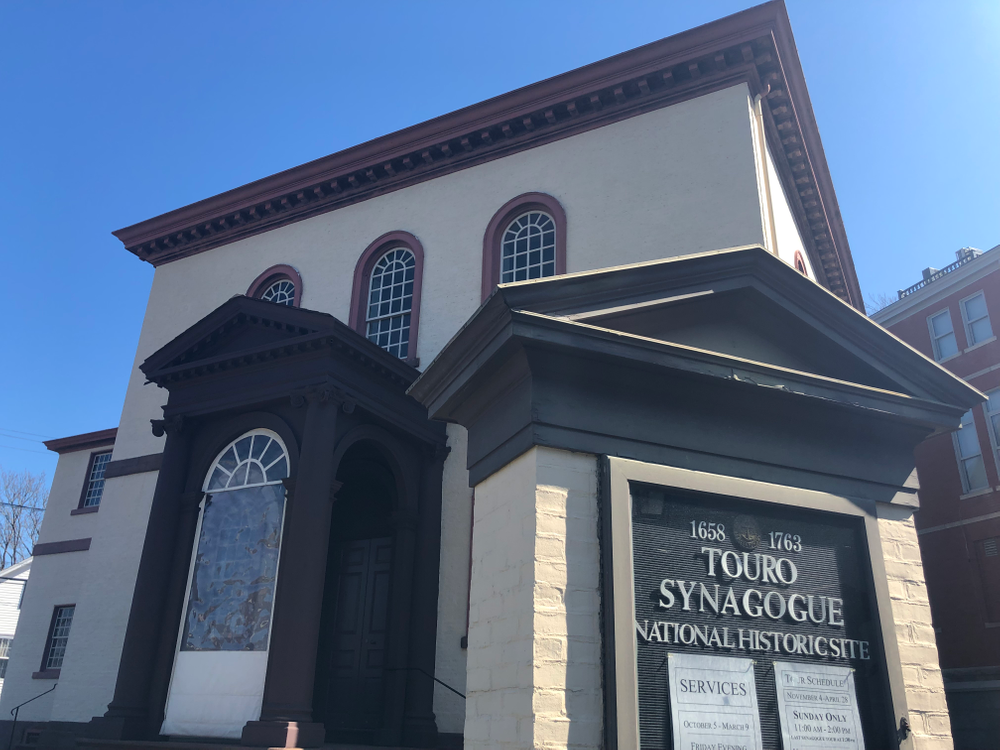 Touro Synagoguge in Newport.