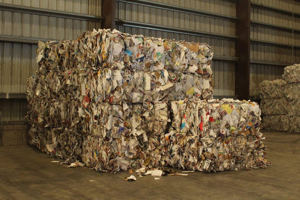 China used to import the bulk of New Bedford's paper recycling.