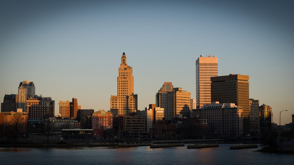 Downtown Providence is pictured here.