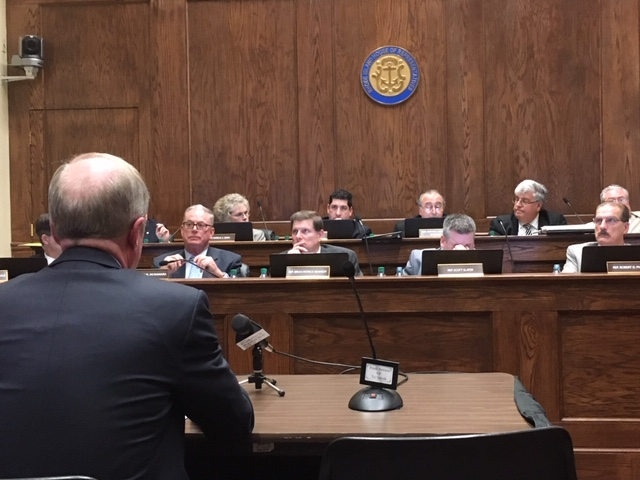 A witness testifies during the House Rules Committee hearing.