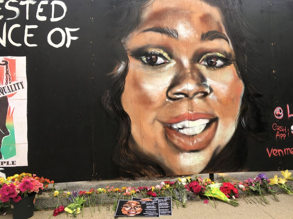Mural of Breonna Taylor by Kendel Joseph
