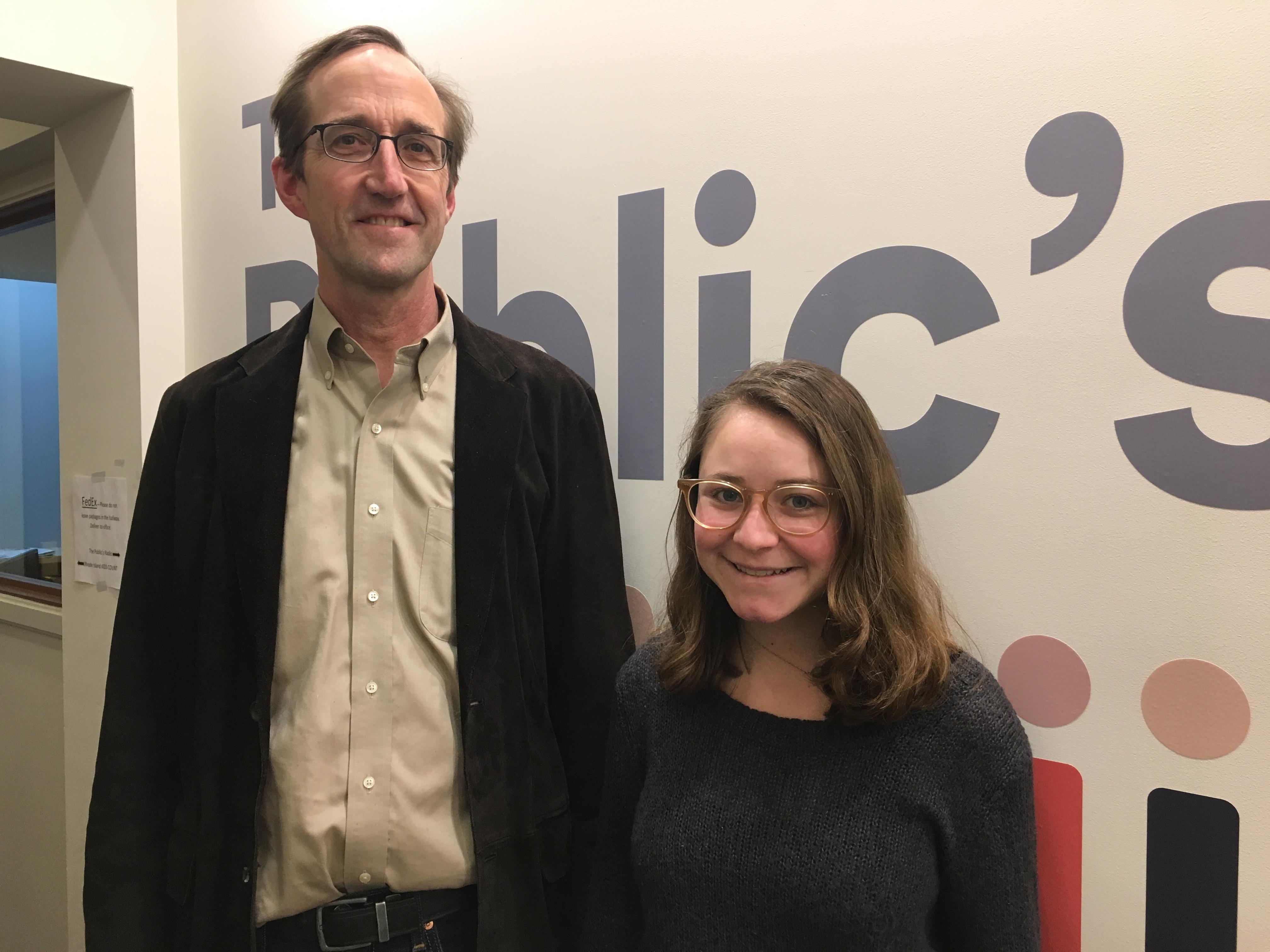 Timmons Roberts and Lauren Maunus