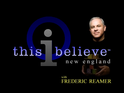This I Believe New England - Poems