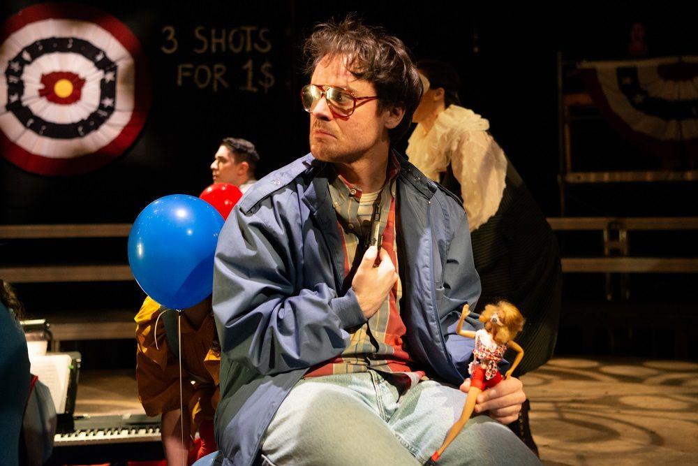 Chris Stahl as John Hinckley Jr.