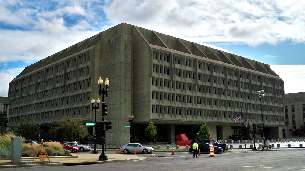 The Department of Health and Human Services headquarters in Washington, DC.