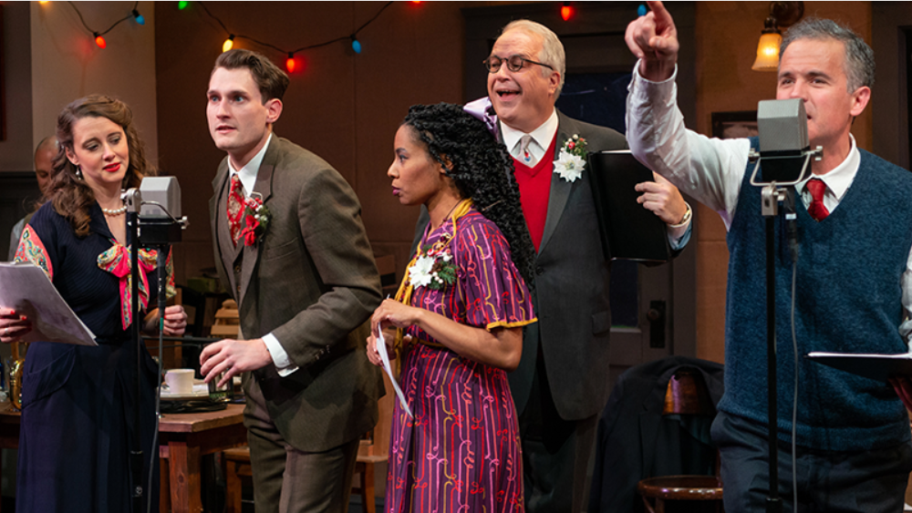 from the 2019 stage production of It's A Wonderful Life