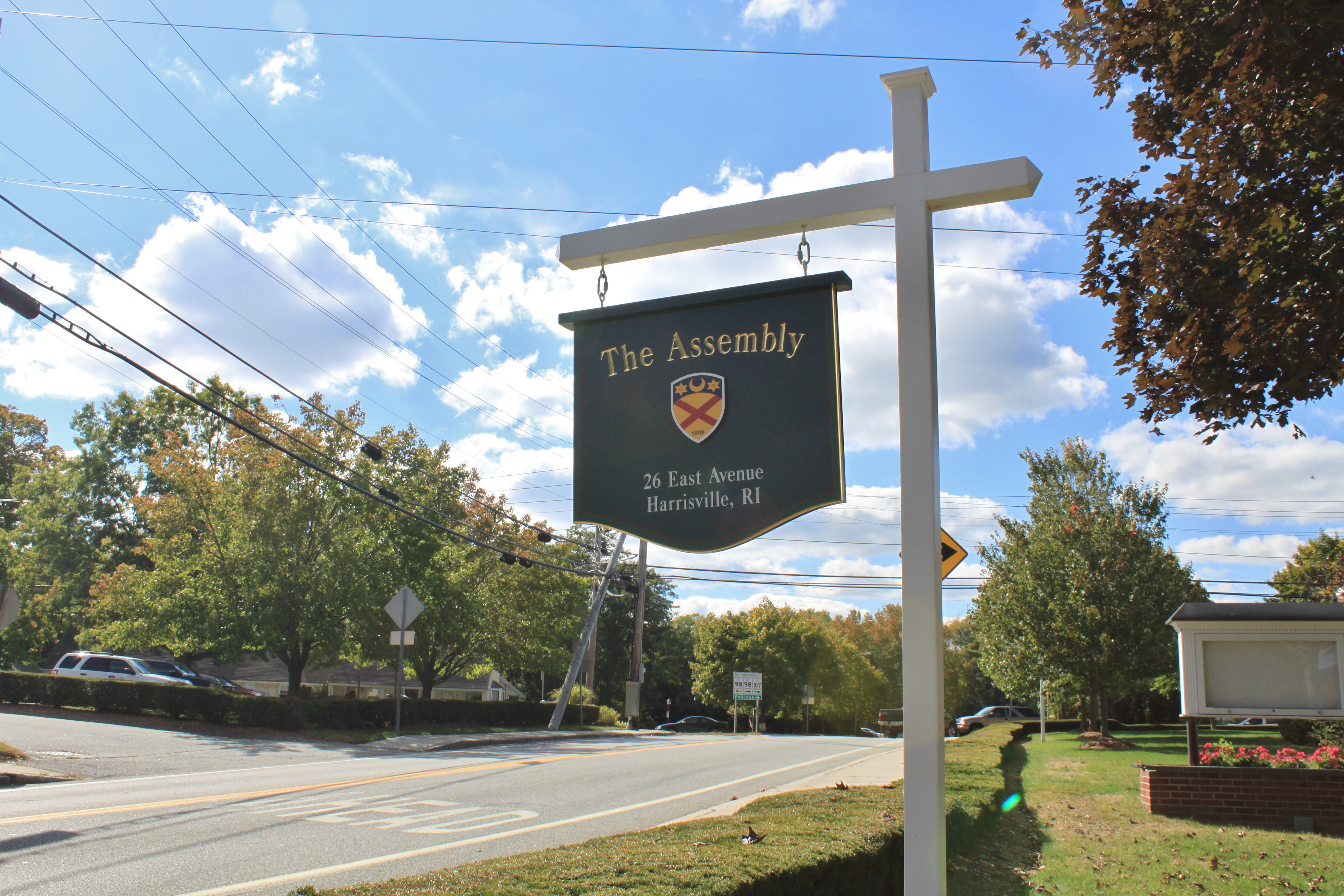 The Assembly Theater holds plays and other performances.