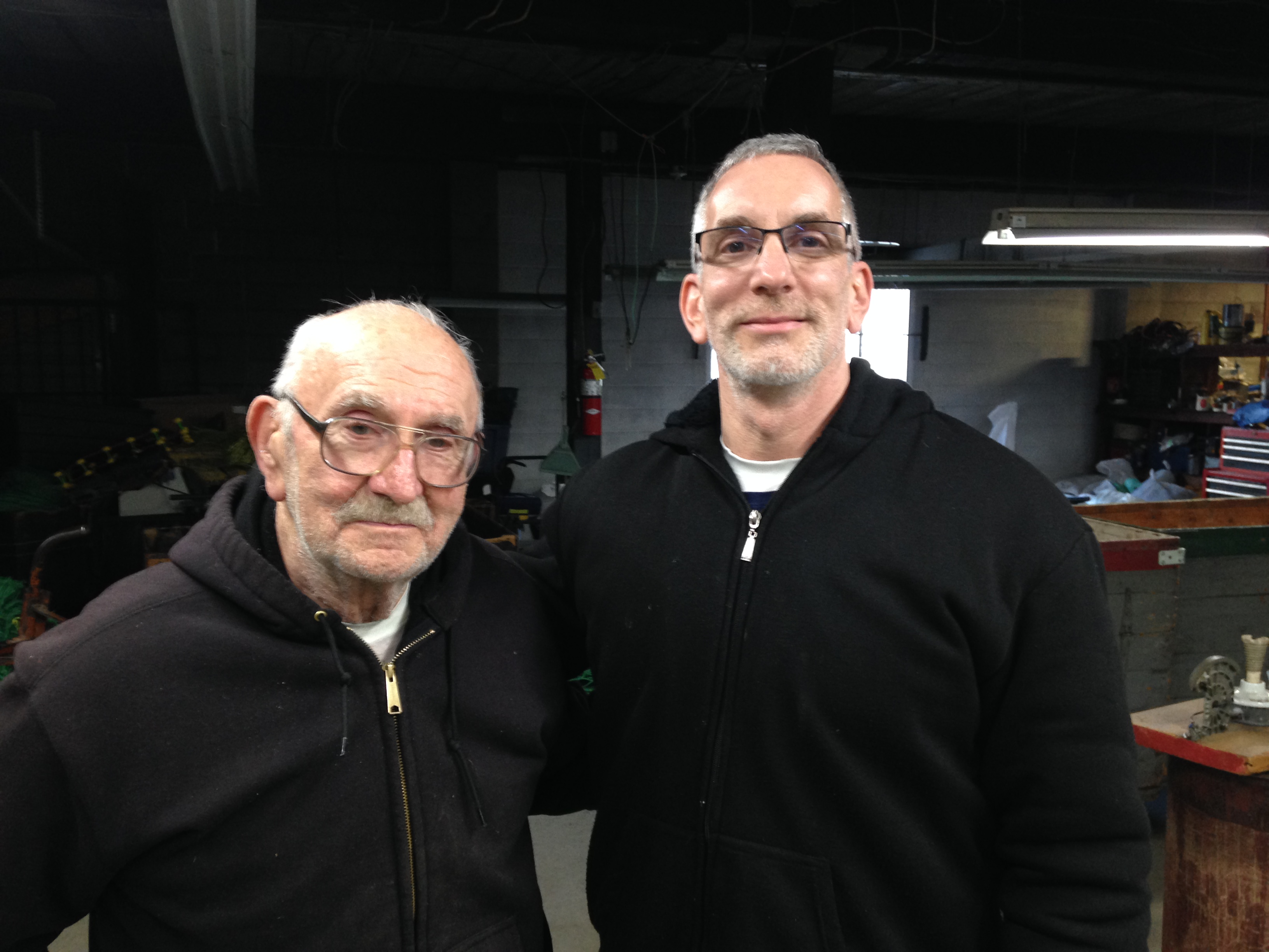 Fred Levin and his son Jerry Levin