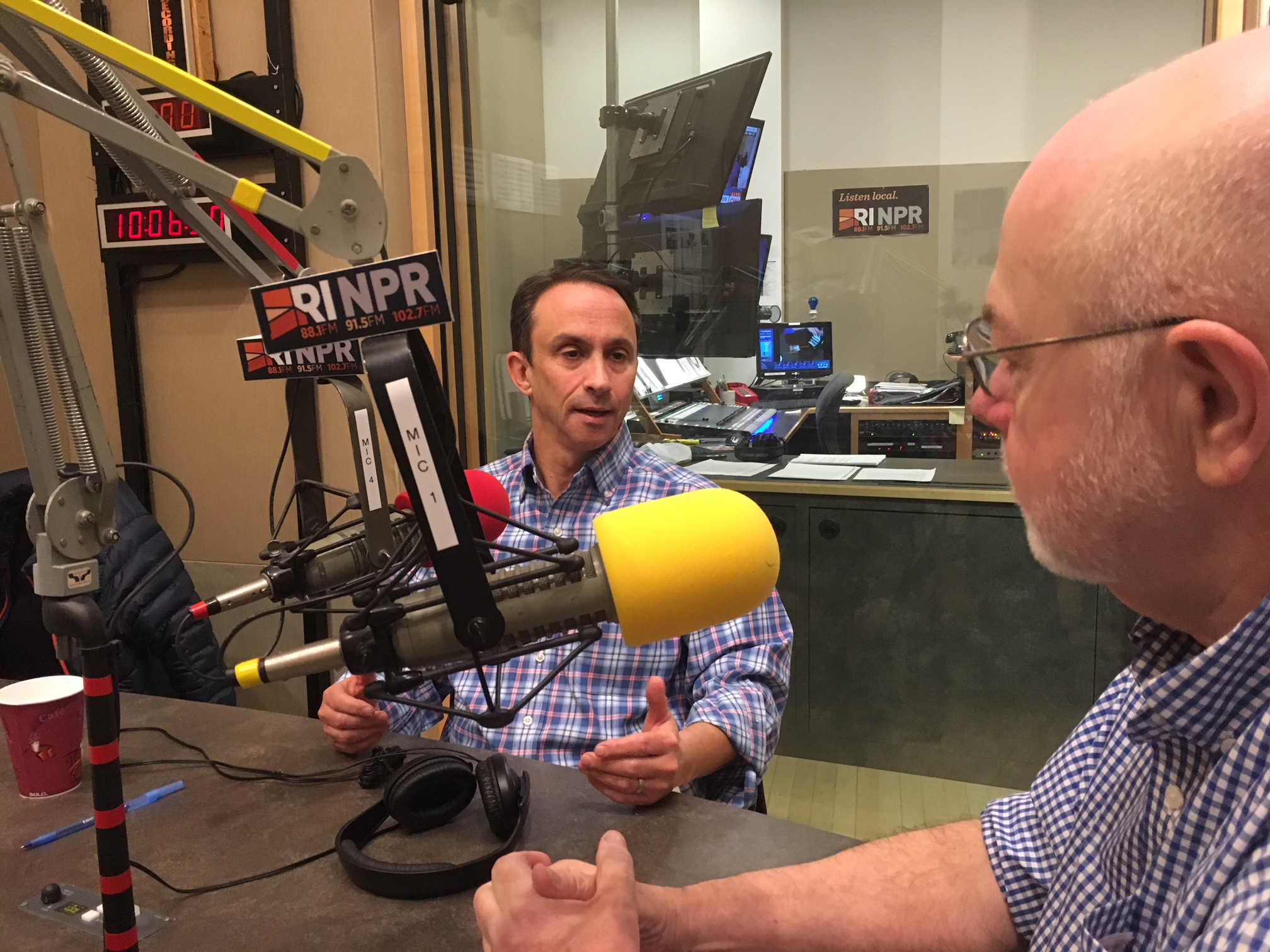 Darn It! Inc.'s Jeff Glassman spoke with RIPR's afternoon host Dave Fallon.
