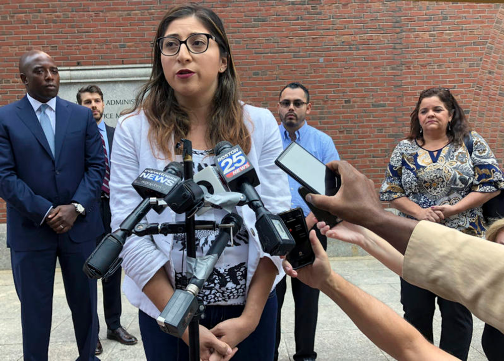 Lilian Calderon is married to a U.S. citizen and is a plaintiff in a class action lawsuit challenging the separation of families pursuing permanent immigration status.